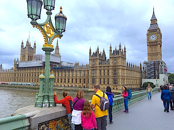 Palace of Westminster, once a royal residence, now home to Parliament